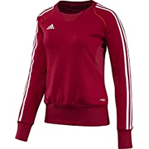 adidas Pullover T12 Team Crew Sweater X13717 - Prenda, color rojo / blanco, talla DE: 50