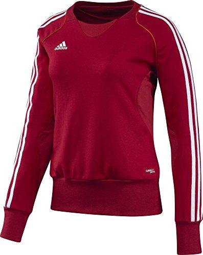 adidas T12 Crew Sweatshirt femme University Red