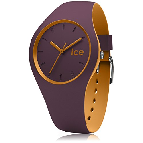 Ice-Watch - ICE duo Fig Honey - Reloj porpora para Mujer con Correa de silicona - 012967 (Small)