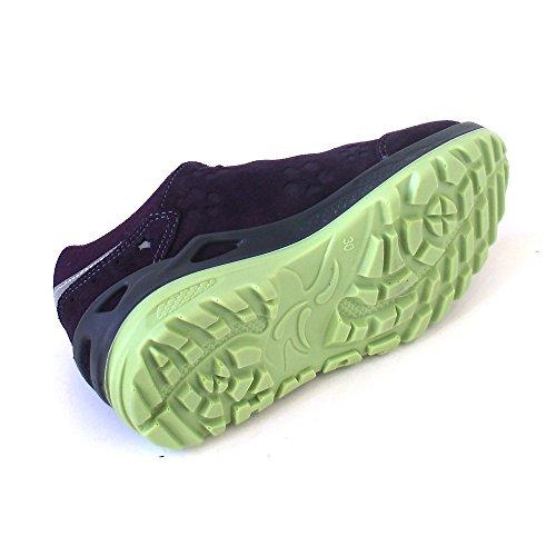 Lowa  Marie Gtx, Chaussures de ville à lacets pour fille Violett (blackberry/mint)