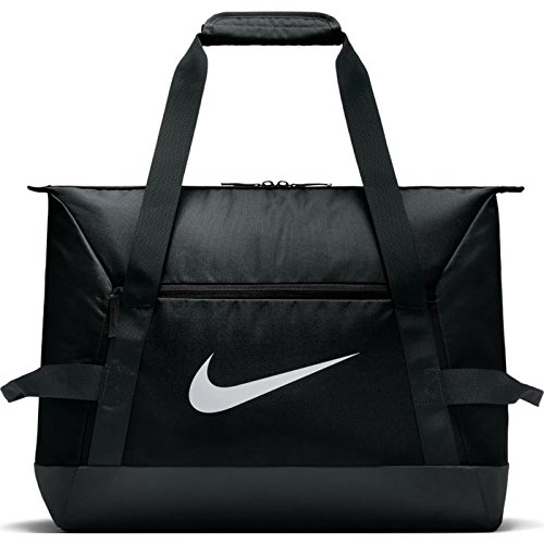 Nike Nk Acdmy Team S Duff Gym Duffel Bag, Unisex Adulto, Black/White, MISC