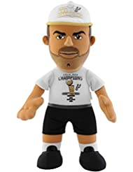 NBA San Antonio Spurs Tony Parker 2014 Champions Plush Figure, 10-Inch, Black