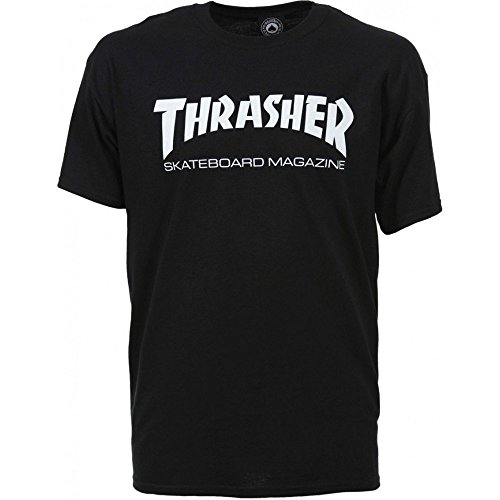 Thrasher T-shirts - Thrasher Skate Mag Logo T-s... (Tee 100% Baumwolle Heavyweight)