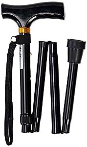 Patterson Medical Height Adjustable Folding Walking Stick