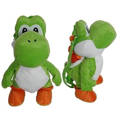 Sac à dos en Peluche-Nintendo Super Mario Peluche Yoshi nouvelle NN 3851–6-Poupée et Mini-Poupée-Les Jouets