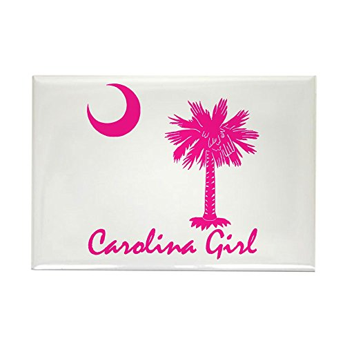 CafePress – Carolina Girl – Rechteck Magnet, 5,1 x 7,6 cm Kühlschrank Magnet (Girl Carolina North)