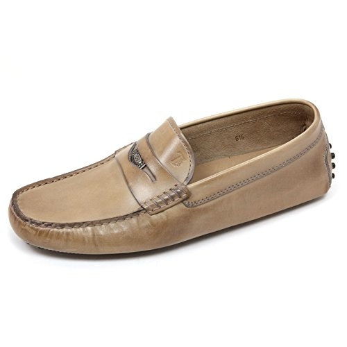 C8532 mocassino uomo TOD'S PENNY NEW GOMMINI sfumature vintage loafer shoe man Beige