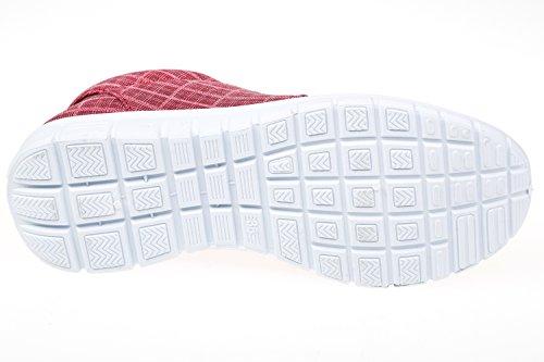 GIBRA® Chaussures de sport pour femme, rouge, Taille 36–42 Rouge - Rouge