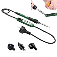 90W High Power Constant Temperature Soldering Tool Soldering Iron - Precision Portable 5 Speed Selection/Digital Display Tin Soldering Gun