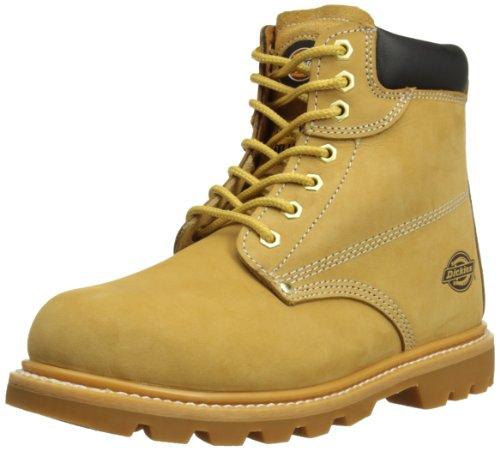 Dickies Cleveland, Chaussures de sécurité Homme Miel Beige
