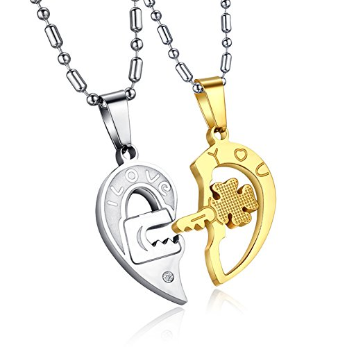 um-joyeria-mujer-hombres-acero-inoxidable-cristal-bloquear-llave-rompecabezas-corazon-colgante-parej