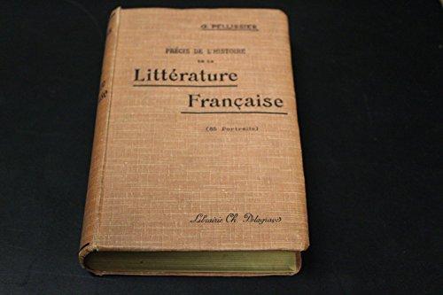 Précis de l'histoire de la litterature française
