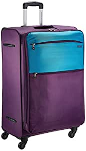 American Tourister Cheer-Lite Polyester 78 centimeters Purple and Blue Soft Sided Suitcase (R28 (0) 51 003)