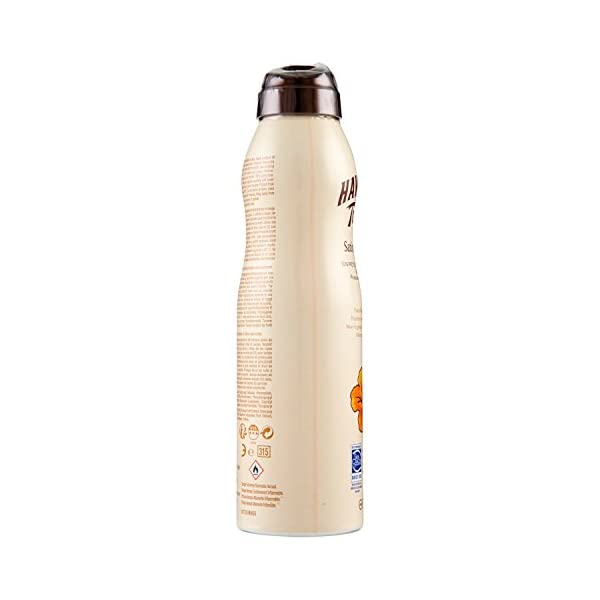 HAWAIIAN Tropic Satin Protection Continous Spray SPF 15 – Bruma Solar Protectora de Absorción Rápida, Protección Solar No Grasa, 220 ml, Crema