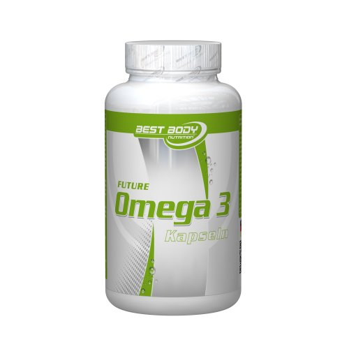 Best Body Nutrition Future Omega 3, 120 Kapseln Dose, 82,7 g