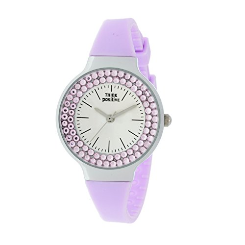 ladies-think-positive-model-se-w262-steel-strap-of-silicone-color-lilac