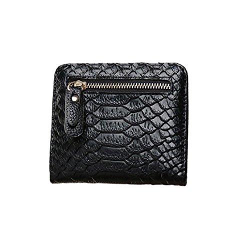 Tefamore Frauen Crocodile Krone lange Geldbörse Wallet Card Inhaber Handtasche Tasche (Clutch Crocodile)