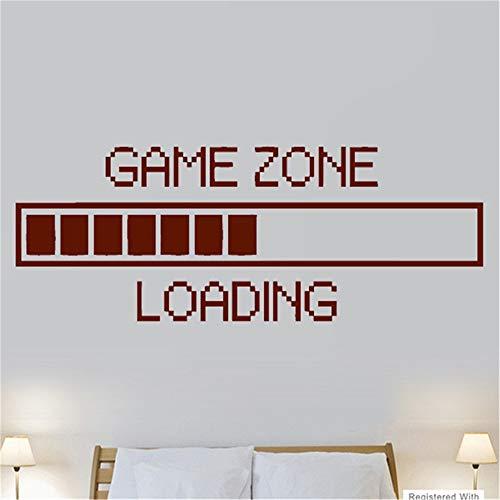 Wandaufkleber Schlafzimmer Spiel Zone Loading PS3 PS4 XBOX Jungen Schlafzimmer Aufkleber Abziehbilder Home Spielzimmer Dekoration (Für Ps3 Fisch Spiele)