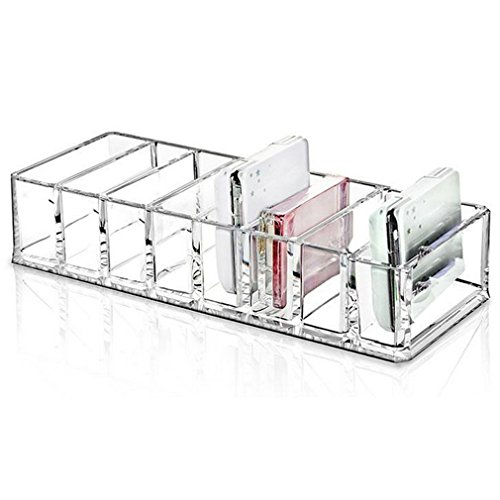 Angker Halter, Make-up-Organizer aus Acryl, 8-Acryl-Box–ideal für IKEA, für Schubladen, Kommode/Regal,
