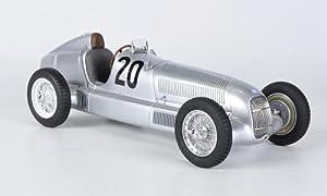 Mercedes W25, No.20, M. de Brauchitsch, Carrera de Eiffel, 1934, Modelo de Coche, Modelo prefabricado, CMC 1:18, Modelo Exclusivamente de colección.