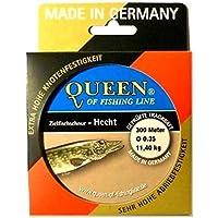 Queen of Fishing Line Objetivo Pez Hilo de/Hecht 0,35mm 11,4kg, 300m