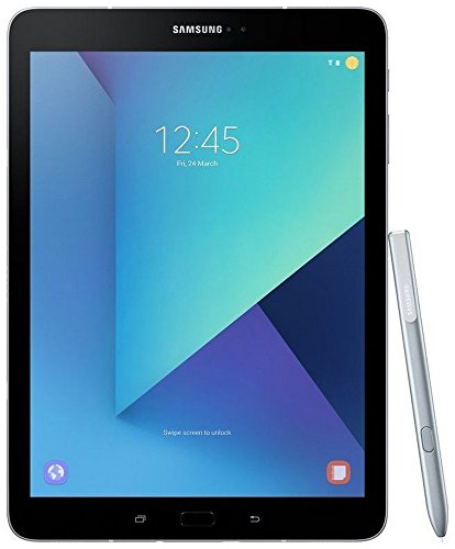 Samsung Galaxy Tab S3 SM-T825NZKAINS Tablet (32GB, 9.7 Inches, WI-FI) Silver, 4GB RAM Price in India