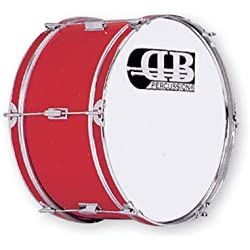 "DB Percussion DB0047 - Bombo banda 20"" x 10"", color rojo"