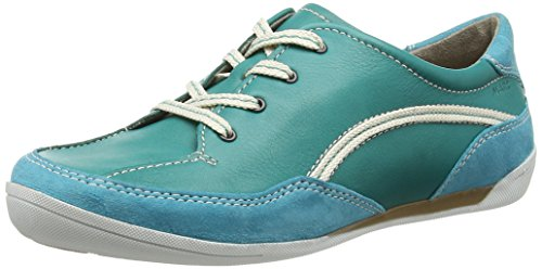 Marc Shoes Damen Katja Derby Türkis (lagoon 592)