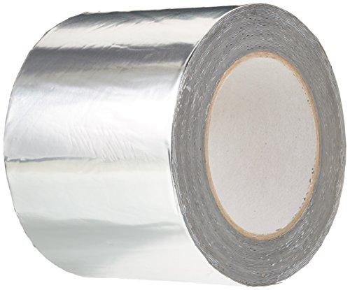 BONUS Eurotech 1BS06.11.0100/010# Butylband aus Aluminium, Breite 100 mm, Länge 10 m, Dicke 0,7 mm, Grau