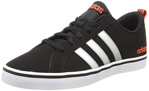 new product 42bf5 5d028 adidas Men s Vs Pace Gymnastics Shoes, Black (Core Black Silver  Metallic Solar