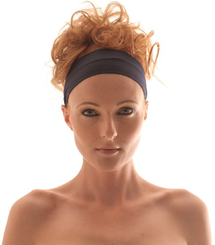 DUNKEL BLAU Stirnband Haarband - NAVY Stretch Microfiber Headband, Beauty, Fitness, All Head Sizes, for Any Activity, They Are comfortable, stylish, fine and absorptive. Hight quality of material. Very pleasant to touch