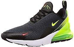 Nike Herren Air Max 270 AQ9164-005 Leichtathletikschuhe, Mehrfarbig (Anthracite/Volt/Black/Bright Crimson 000), 46 EU