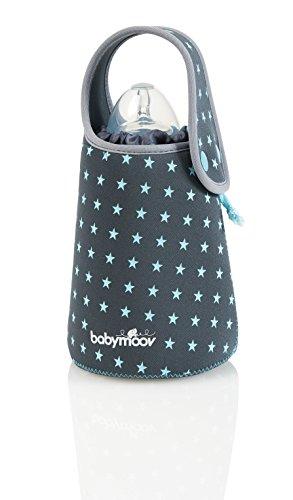 Babymoov Reise-Flaschenwärmer, Erwärmen von Babyflaschen ohne Strom, wiederaufladbar, Isolierende Hülle aus Neopren