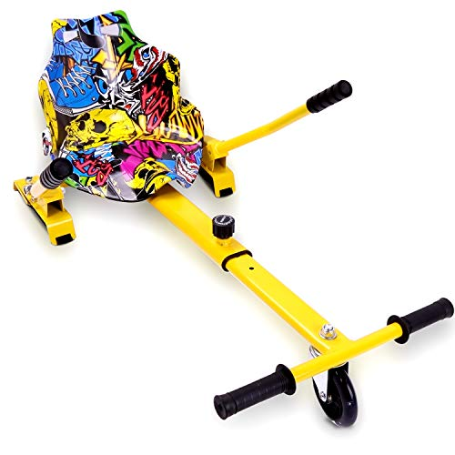 GeekMe HoverKart Go-Kart Sitz für Elektro Self Balance Scooter Board Hover 6.5 \'\' 8 \'\' 10 \'\' Elektro Go-Kart