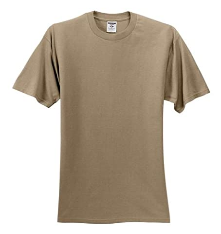 Jerzees 5.6 oz Cotton T-shirt (363M) Tee Small