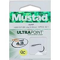 Mustad - Surf 10001NP BN, Color Black