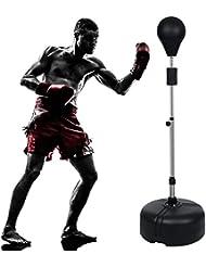 Teamyy Boxen Set Punchingball Ständer Box Trainer Training Einstellbare Höhe Hause im Freien