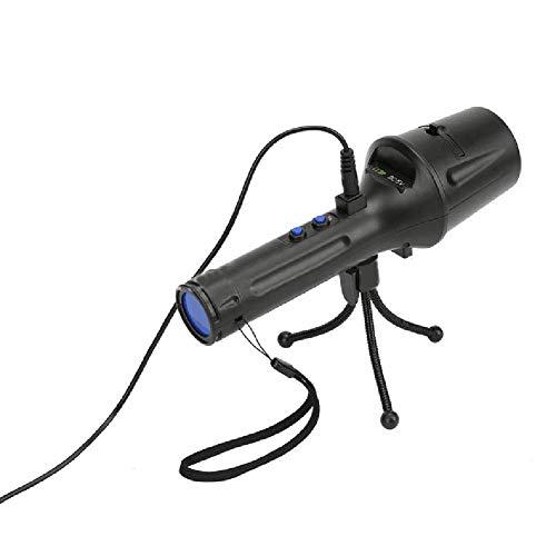 LED Taschenlampe Beleuchtung Projektor,Queta animierte Projektor-Licht Outdoor-dekorative Party-Licht mit 4 Folien & Stativ Kinder Projektor Taschenlampe für Home-Party, Geburtstag, Halloween, Weihnachten