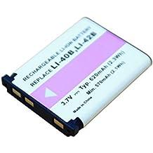 PowerSmart–Batería de ion de litio de 3,70V y 700mAh batería para Fujifilm FinePix JZ100, JZ110, JZ200, JZ250, JZ260, JZ300, JZ305, JZ310, JZ500, JZ505, JZ700, L30, L50, L55, T200, T205, T300, T305, T310, T350, T360, T400, T410, T500, T510, T550, T560, XP10, XP11, xp15, XP20, XP22, XP30, XP31, XP50, XP60