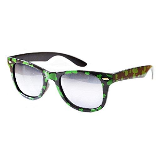 Shamrock lustige Brillen (Irish Leprechaun Kostüm)
