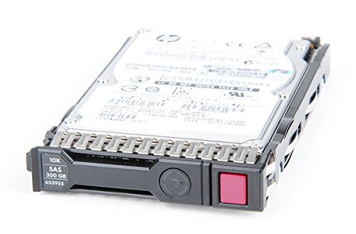 HP 300 GB 6G 10K SAS 2.5' Hot Swap Festplatte / Hard Disk mit Smart Carrier - 653955-001 / 652564-B21 (10k Swap Hot Festplatte)