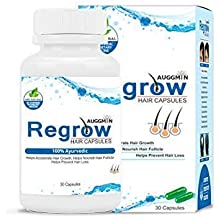 Auggmin Regrow Hair Natural Regrowth Capsules for Men and Women