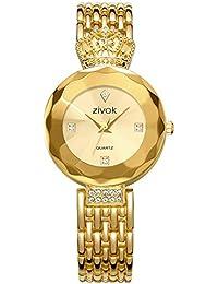 09529377c5e6 Reloj de Pulsera Para Mujer Aleación Banda Cuarzo Reloj De Nuevo diseño  Lujo Moda Plata