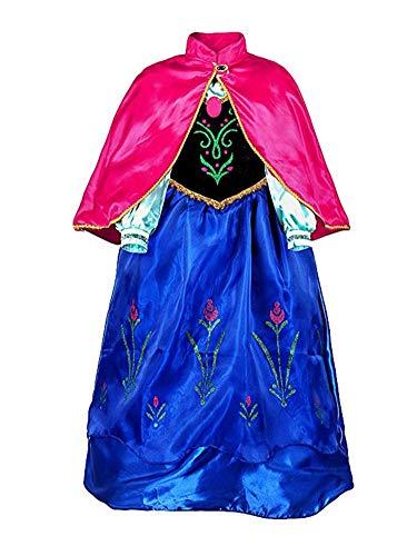 SAMGU Queen Princess Party Cosplay Kostüm Mädchen Verkleiden Sich Dress