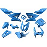 Verkleidung 12 TLG, StylePro, Nitro,Aerox, Iceblue