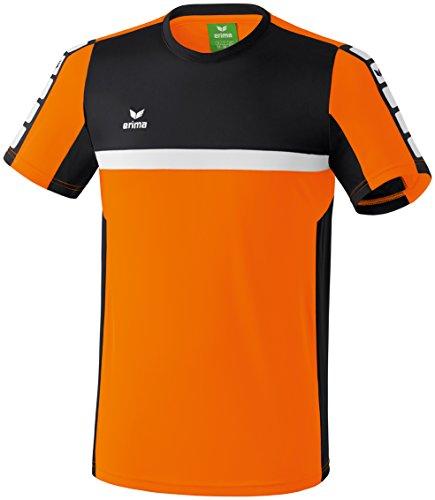 CLASSIC 5-CUBES T-Shirt Orange/Schwarz/Weiß