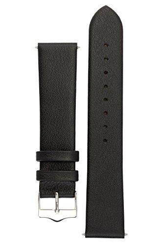 signature-easy-armbanduhr-band-ersatz-uhrenarmband-echtleder-silber-schnalle