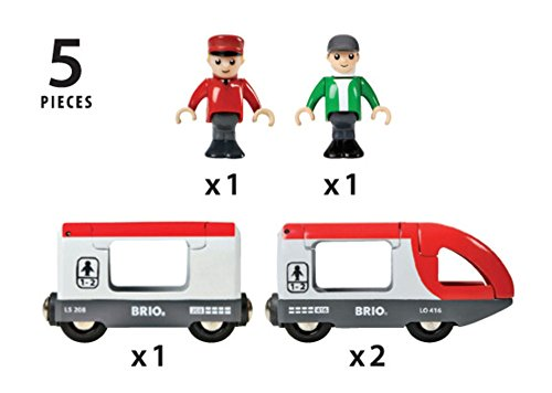 BRIO World  - 33505 - TRAIN DE VOYAGEURS