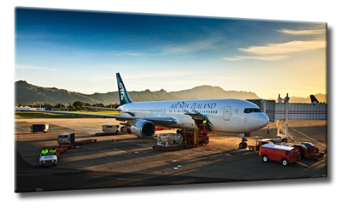 leinwand-bild-air-new-zealand-grosse-110-cm-x-60cm-airbus-air-new-zealand-flughafen-reisen-farbe-bla