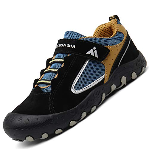Mishansha Lightweight Sneakers for Boys Girls Breathable Mesh Casual Shoes Unisex Low Top Kid